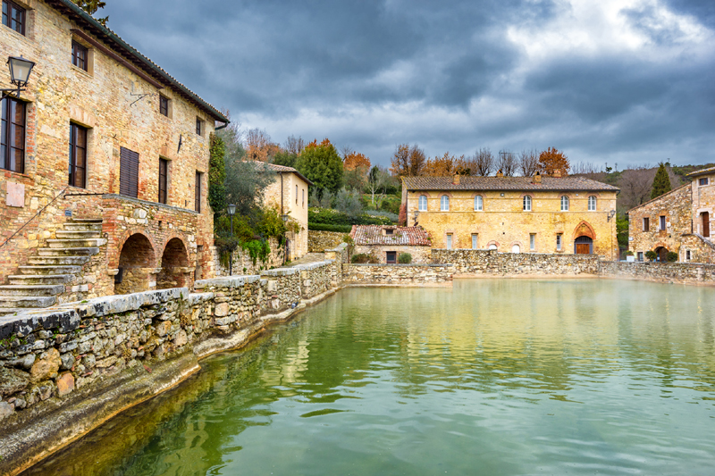 Associazione culturale saunamecum stabilimenti termali a - Bagno vignoni mappa ...
